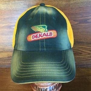 K-Products Headwear Dekalb Accessories - NWOT Distressed Look Dekalb Seed  Corn Cap 1834b5d49f6